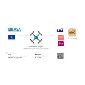 A2 Drone license (EU) + Your Flight App