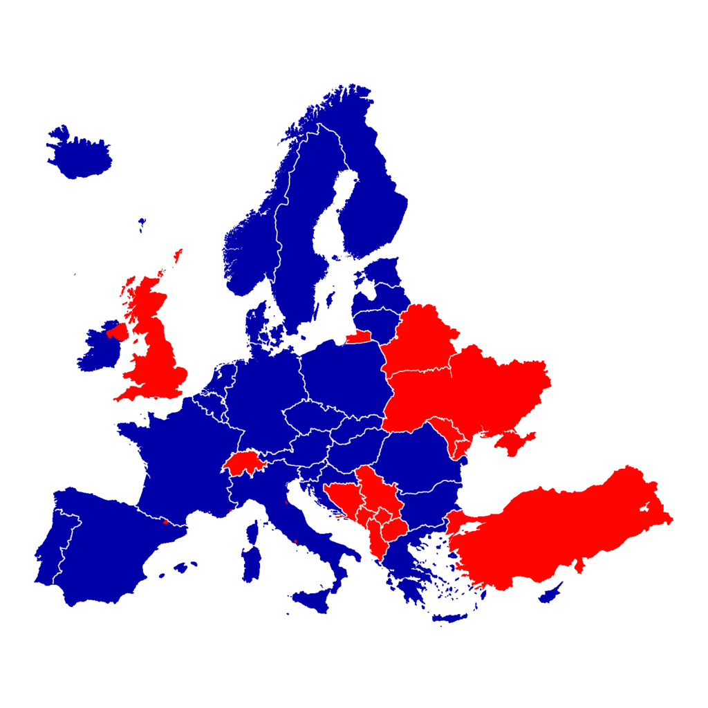 Dronelicense EU States A2