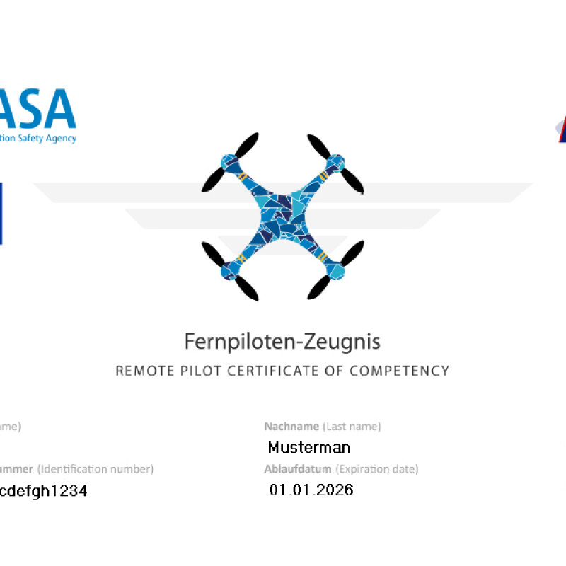 A2 Certificate Image